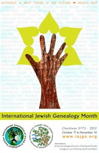 International Jewish Genealogy Month Programs