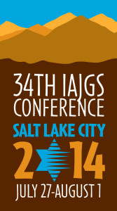 Summer means the IAJGS Conference is nearing