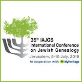 IAJGS announces the 2015 Conference website is live