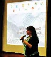 Mary Kathryn Kozy Presenting